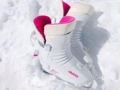 Snow White, Hot Pink Ski Boots