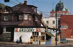 Satellite Radio, Reliable Grocery, 1961 Vancouver, Fred Herzog