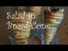 The Bread cones ingredients 1 lb of white flour 1 tbsp of sugar 1 tsp of salt 3 tbsp of olive oil 1 tbsp of instant yeast 2 tbsp of dried milk about a cup of. No Dairy Recipes, Fall Recipes, Baking Recipes, Bread Cones, Bread Shaping, Good Food, Yummy Food, Western Food, Onion Recipes