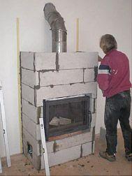 Argan s.r.o. Wood Stove Heater, Fireplace Heater, Fireplace Console, Fireplace Design, Front Garden Landscape, Chiminea, Wood Burner, Home Appliances, Samos