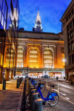 Chrysler Building and Grand Central Terminal, New York City, New by Joe Daniel Price on 500px