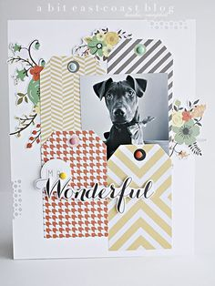Cute way to use up some tags; they always seem to come in packs / SBO