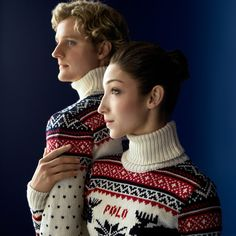 Team USA | Ralph Lauren - love the sweater.  I think RL is using Imperial yarn.  yay!