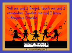 'Tell me and I forget. Teach me and I remember. Involve me and I learn.'…