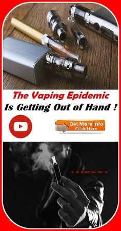 The Vaping Epidemic Is Getting Out of Hand (VIDEO) Out Of Hand, Vaping, Getting Out, How To Stay Healthy, Hands, Vape, Electronic Cigarettes, Smoking