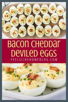 Easter Deviled Eggs, Keto Deviled Eggs, Devilled Eggs Recipe Best, Perfect Deviled Eggs, Allergy Free Recipes, Egg Recipes, Low Carb Recipes, Best Bacon