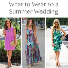 What to Wear to a Summer Wedding: 3 Bloggers x 3 Ways