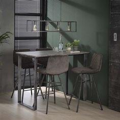 Industrial Floor Lamps, Industrial Dining Chairs, 3d Folie, Modern Bar Stools, Scandinavian Living, Apartment Design, Interior Styling, Furniture Design, Inspiration