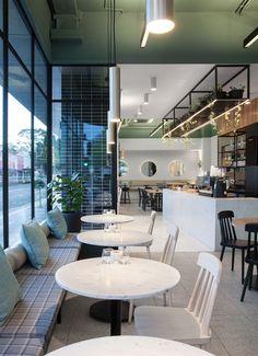 ZUNICA - Ambience Lighting @ Docasa Ivanhoe restaurant/cafe | Commercial Lighting | www.facebook.com/CityLightingProducts