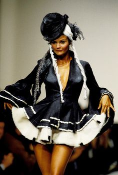 john-galliano-blog:  John Galliano Spring Summer 1994 Ready-to-Wear