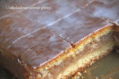 Polish Desserts, Polish Recipes, No Bake Desserts, Dessert Recipes, Apple Cake Recipes, Baking Recipes, Pumpkin Cheesecake, Sugar Cookies, Cupcake Cakes