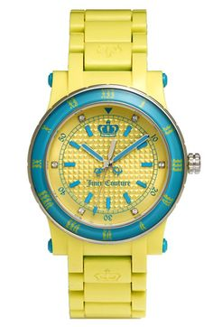 Juicy Couture Her Royal Highness Plastic Watch $116.90
