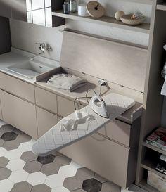 Ideas Bath Room Closet Laundry Ironing Boards For 2019 Laundry Room Layouts, Small Laundry Rooms, Laundry In Bathroom, Master Bathroom, Laundry Closet, Laundry Room Organization, Laundry Room Inspiration, Room Closet, Laundry Room Design