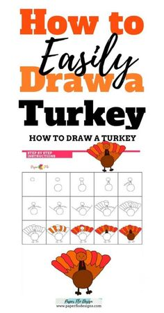 Animals like turkeys are fun to draw and can be done very easily. I'll show yo… Animals like turkeys are fun to draw and can be done very easily. I'll show you my method for how to draw a cartoon turkey that you can also use in Cricut. Paper Drawing, Drawing Tips, Drawing Ideas, Drawing Tutorials, A Cartoon, Cartoon Drawings, Colorful Drawings, Easy Drawings, Thanksgiving Drawings