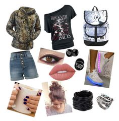 """"""""""" by sillylilli02 on Polyvore featuring TC Fine Intimates, LE3NO, Electric Styles, Disney, Lime Crime and Saachi"""