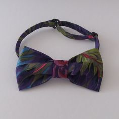 Exclusive bow tie Bow tie Kaffe Fassett bow tie Bow tie for man Bow tie for boy by MagicThreadByNatalia on Etsy