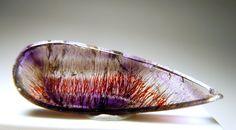 Quartz in Hematite and Lepidocrocite inside