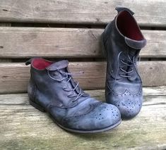 Leather Brogues, Leather Men, Leather Boots, Red Leather, Men Boots, Thick Leather, Leather Sneakers, Combat Boots, Women's Shoes