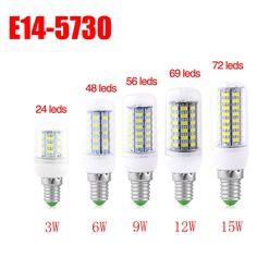 Dimmbar E14 E27 GU10 G9 6W//12W//16W LED Lampe Glühbirne Bulbs Mais Leuchtmittel