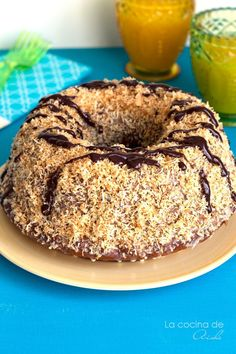 {Girl Scout} Samoa bundt cake