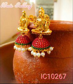 Lakshmi Goddess Jhumki Rs 500/-