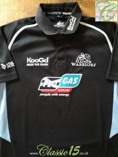 Official Kooga Glasgow Warriors home rugby shirt from the 2006/2007 season.