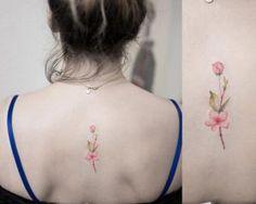 Cherry blossom tattoo by Hongdam
