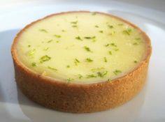 JACQUES GENIN  |  Tarte Citron vert et Basilic (recette)  •  Ma Sérendipité