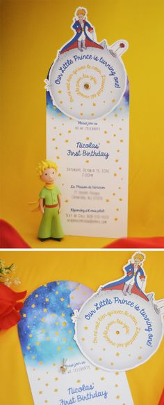 Le Petit Prince Party Invitation and Decorations by The Blush Market