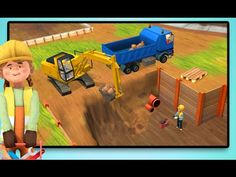 Little Builders App - Trucks, Cranes and Diggers - Construction Game for...