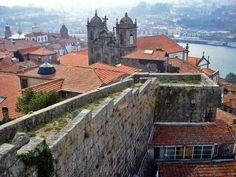 The Muralhas Fernandinas in Porto | Saudades de Portugal