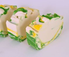 Ginger Lime Soap  Handmade Cold Process Soap by PinkParchmentSoaps