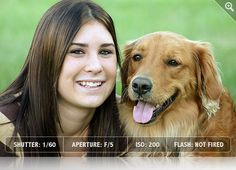 Pet Photography Tip 4 - A good simple portrait of a pet by itself or with the owner is a classic shot. #photography #photographytips #photog #tips