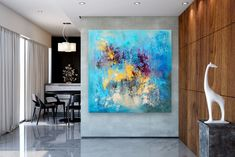 Items similar to Large Modern Wall Art Painting,Large Abstract Painting on Canvas,large art on canvas,texture art painting,canvas wall art on Etsy Large Canvas Art, Abstract Canvas Art, Large Painting, Canvas Wall Art, Painting Canvas, Textured Painting, Abstract Paintings, Bedroom Paintings, Acrylic Canvas