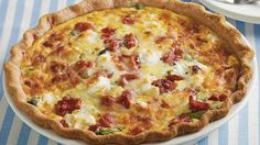 Bake Pillsbury® pie crust topped with asparagus and goat cheese to make this delicious quiche for dinner – a perfect French cuisine recipe. Best Quiche Recipes, Brunch Recipes, Breakfast Recipes, Savoury Recipes, Breakfast Dishes, Brunch Ideas, Breakfast Casserole, Goat Cheese Quiche, Quiche Dish