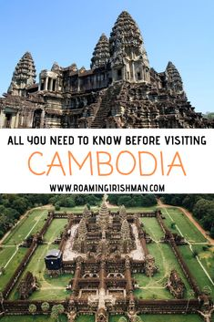 Cambodia is one of Asia's top travel destinations. This travel guide will guaran… Cambodia is one of Asia's top travel destinations. This travel guide will guarantee you have a great time there. Cambodia Travel, Thailand Travel, Asia Travel, Mexico Travel, Cambodia Itinerary, Berlin Travel, Thailand Adventure, Adventure Travel, Machu Picchu