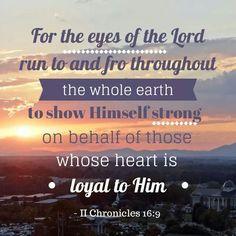 2 Chronicles 16:9
