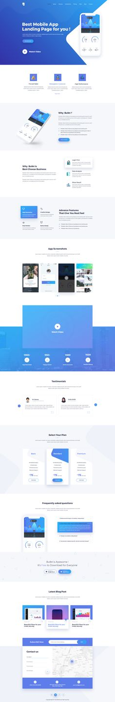 Bufet is a powerful Responsive Software and App landing Page PSD Template. It is 100% responsive and looks stunning on all types of App, Saas (Software as a Service), Startup, Admin Dashboard, Tech... #webdesign #uidesign #psd #landingpage