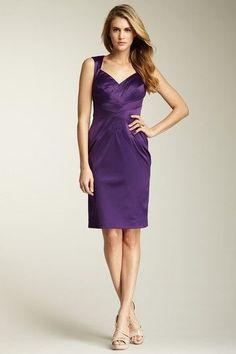 Purple Dress.