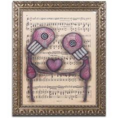 Trademark Fine Art 'Nuestro Amor Eterno' Canvas Art by Abril Andrade, Gold Ornate Frame, Size: 11 x 14, Assorted