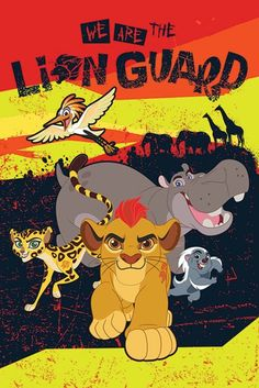 The Lion Guard We Are - Official Poster