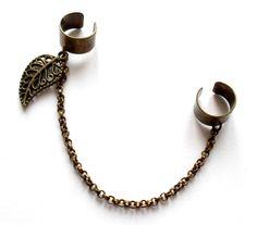 Dubbel ear cuff från http://ladyofthelake.se