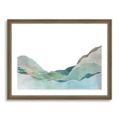$129 (perfect for hallway or bathroom) Minted for west elm - Terrain Prints #westelm