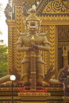 Golden Warrior, Hua-Hin, Thailand