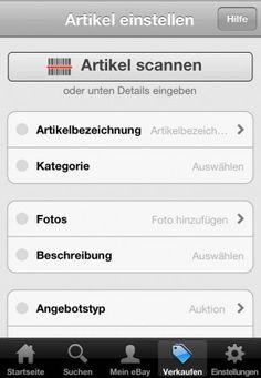 Mobil verkaufen mit der eBay-App: Wie geht das? - http://www.onlinemarktplatz.de/32322/mobil-verkaufen-mit-der-ebay-app-wie-geht-das/
