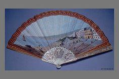 Fan, early 19th C Met museum