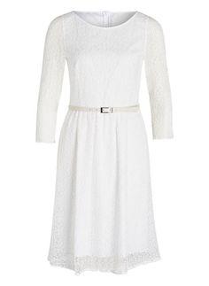 ST.EMILE - Kleid ELIETTE mit Spitzenbesatz