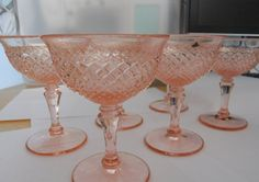 more pink depression glass