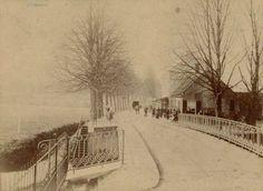 Duivelsbruglaan. Duivelsbrug. Rechts hotel Duivelsbrug - 1885