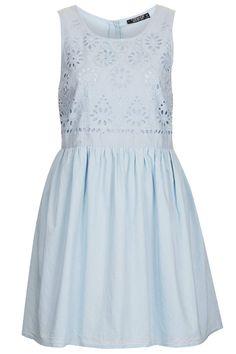 Womens Broidery Chuck On Dress